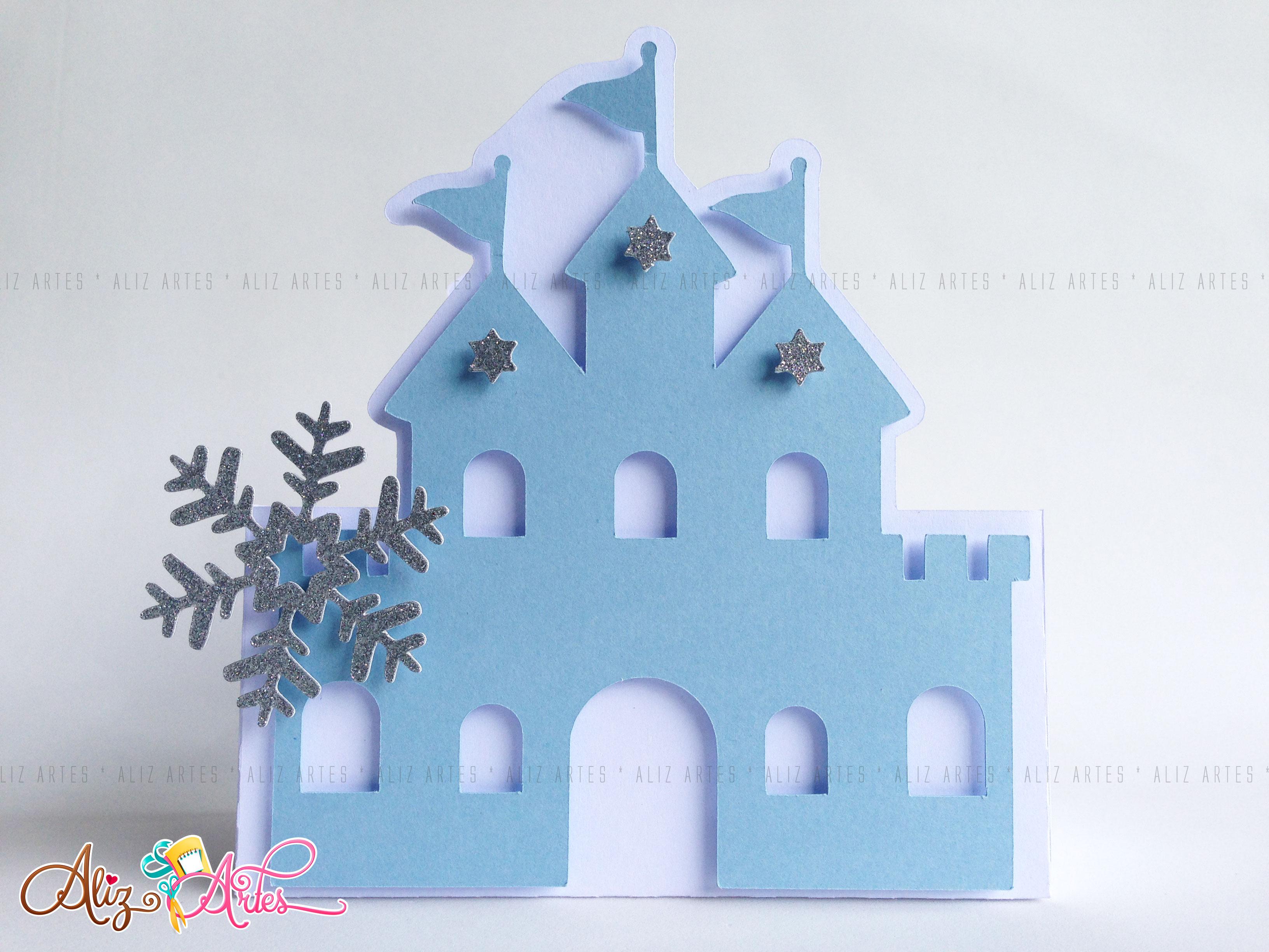 Super Caixa Castelo Frozen | Elo7 DR44
