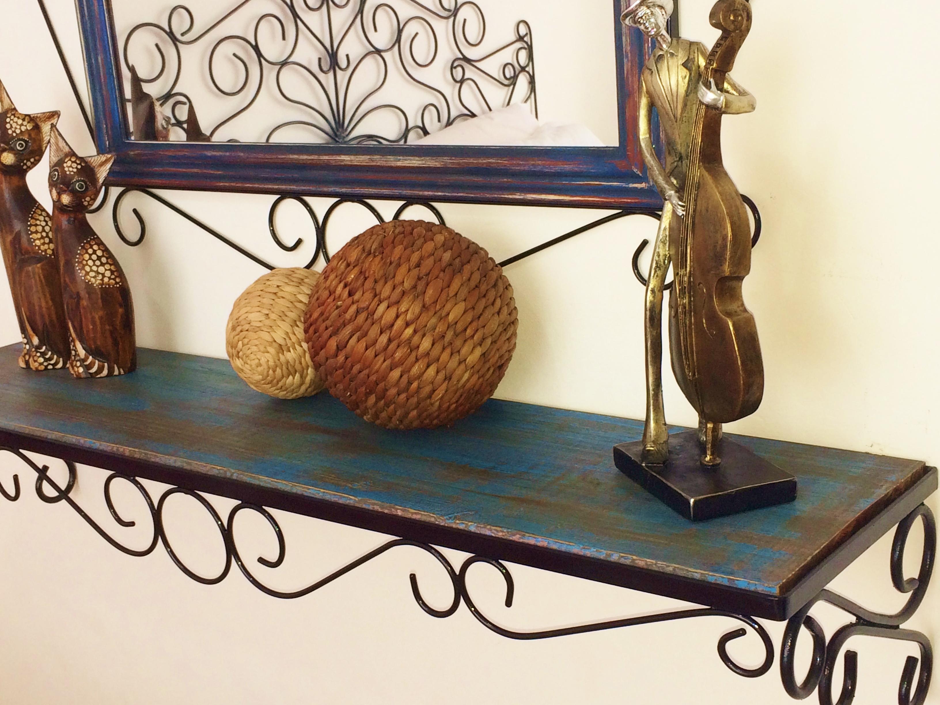 Moldura   aparador (ferro e madeira) Débora Art's Elo7 #977334 3264x2448
