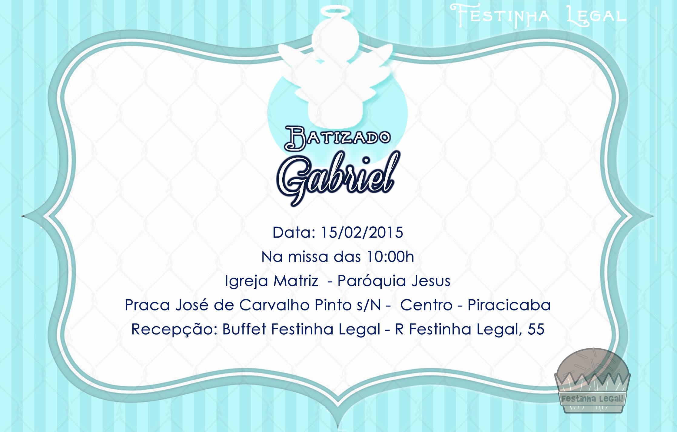 Convite virtual batizado menino no elo7 festinha legal 4df795 altavistaventures Gallery