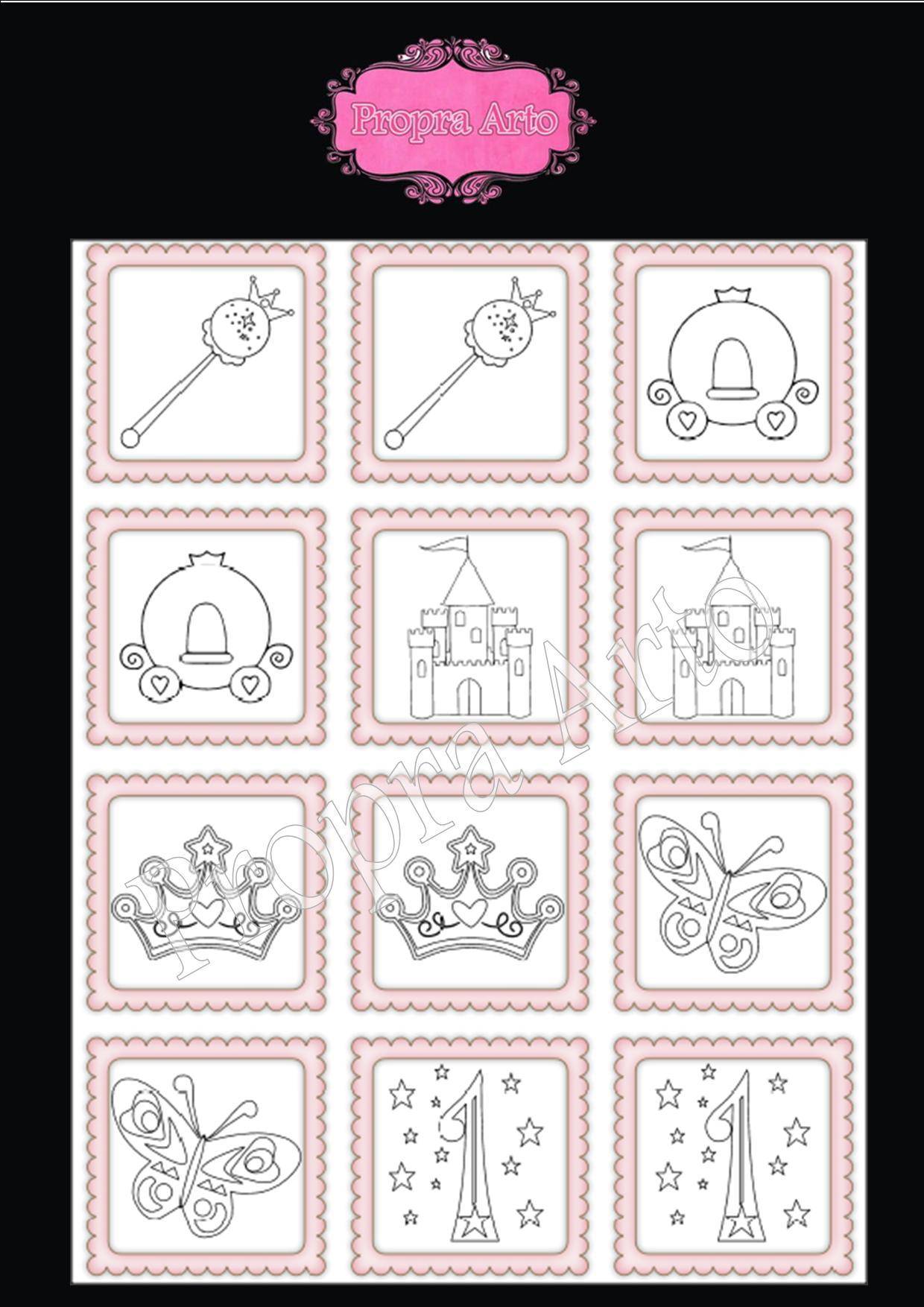 Super Jogo da memória para colorir | Propra Arto | Elo7 LB38