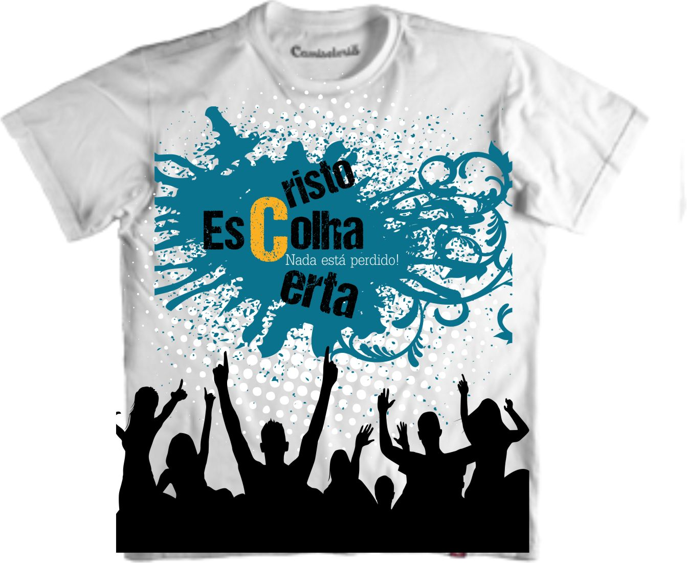 Camiseta Gospel  5752ac7de6ce4