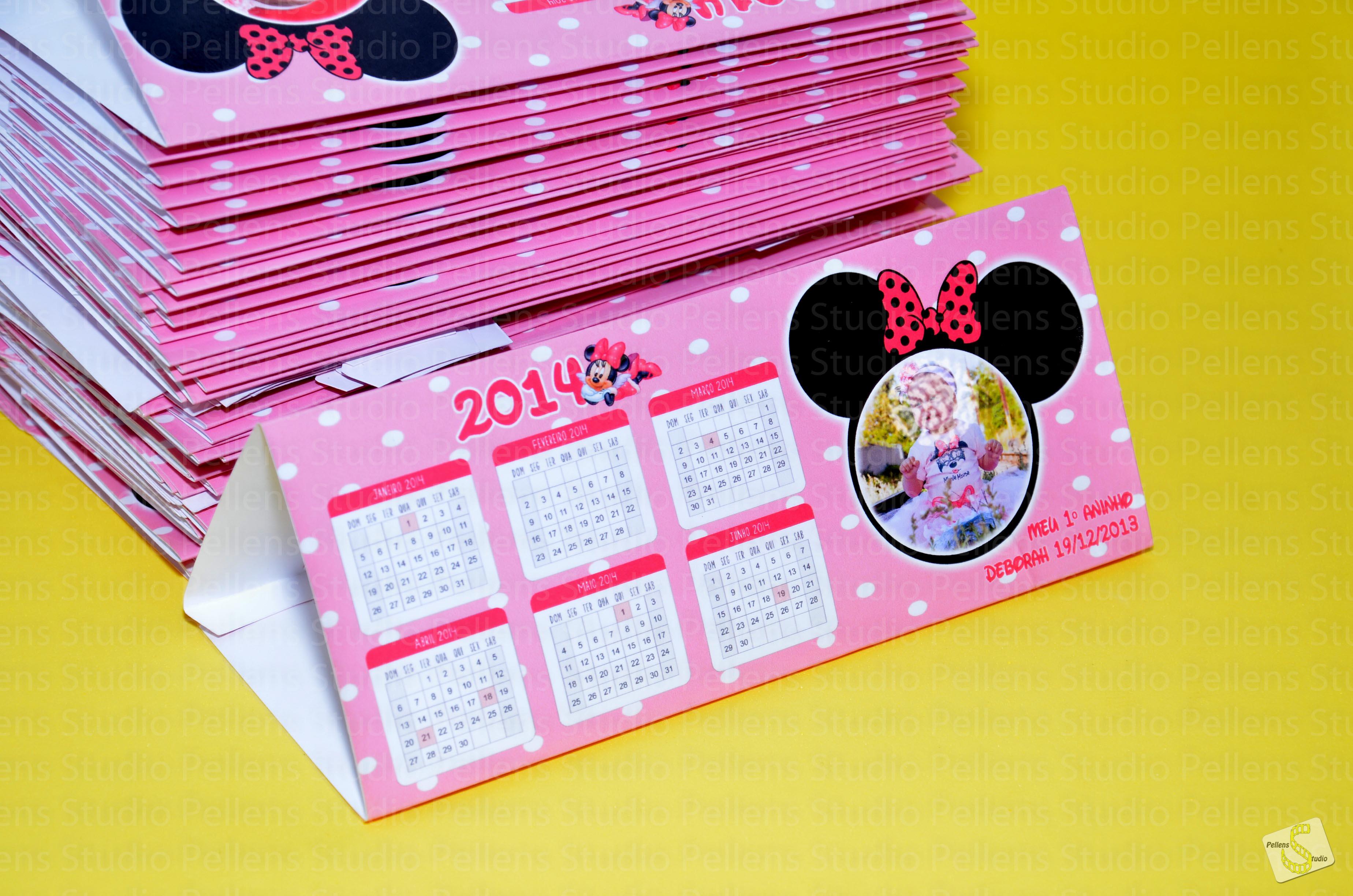 Calend rio display de mesa personalizado pellens studio - Calendario de mesa ...