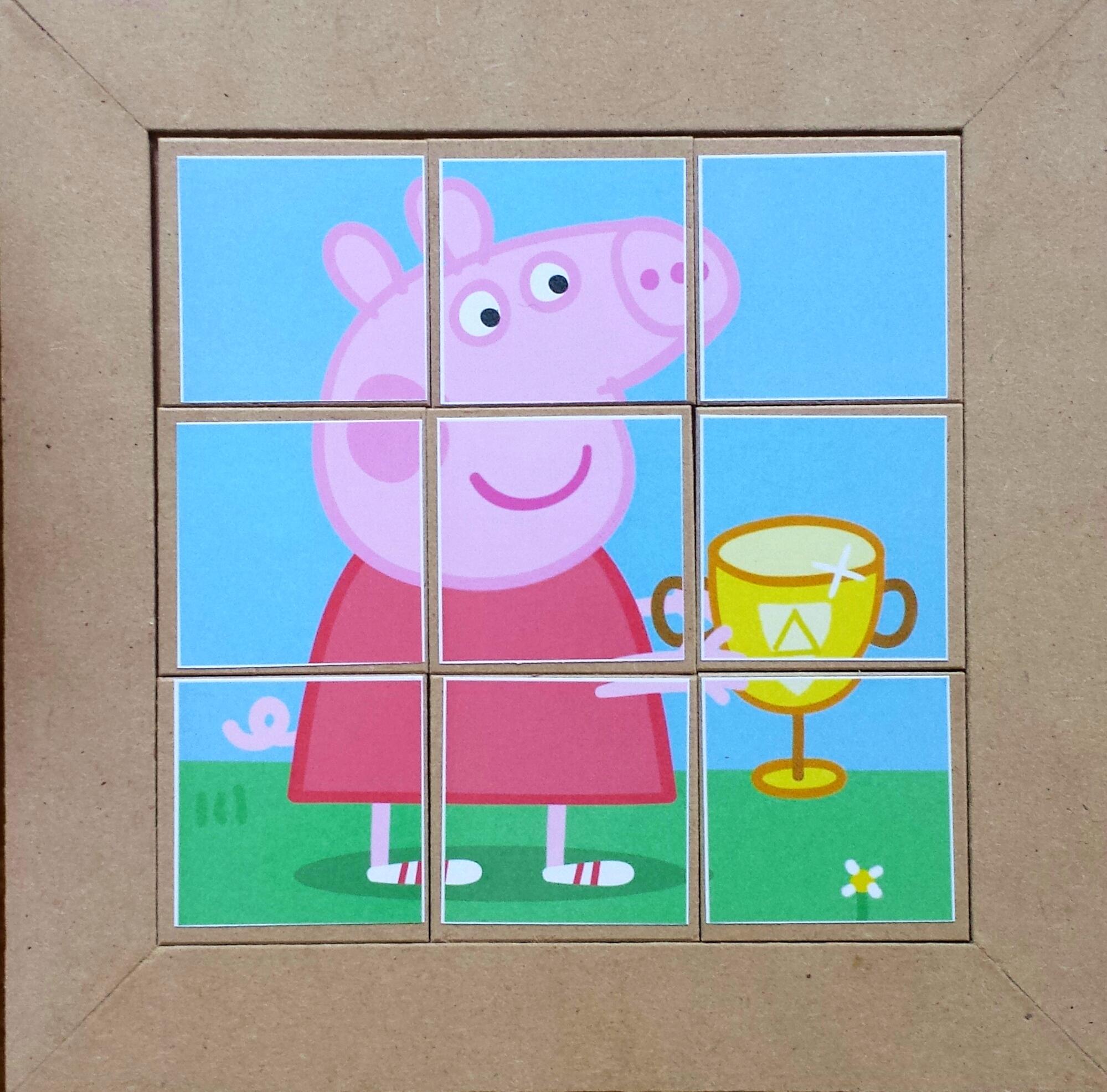 Quebra Cabeca Infantil Pepa Pig No Elo7 Tribal Criacoes 4ee012