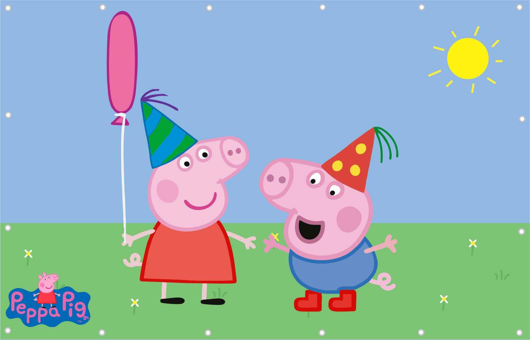 Painel Peppa Pig Banner Peppa Pig Festa no Elo7 | Estampa do Seu Jeito  (4F2507)