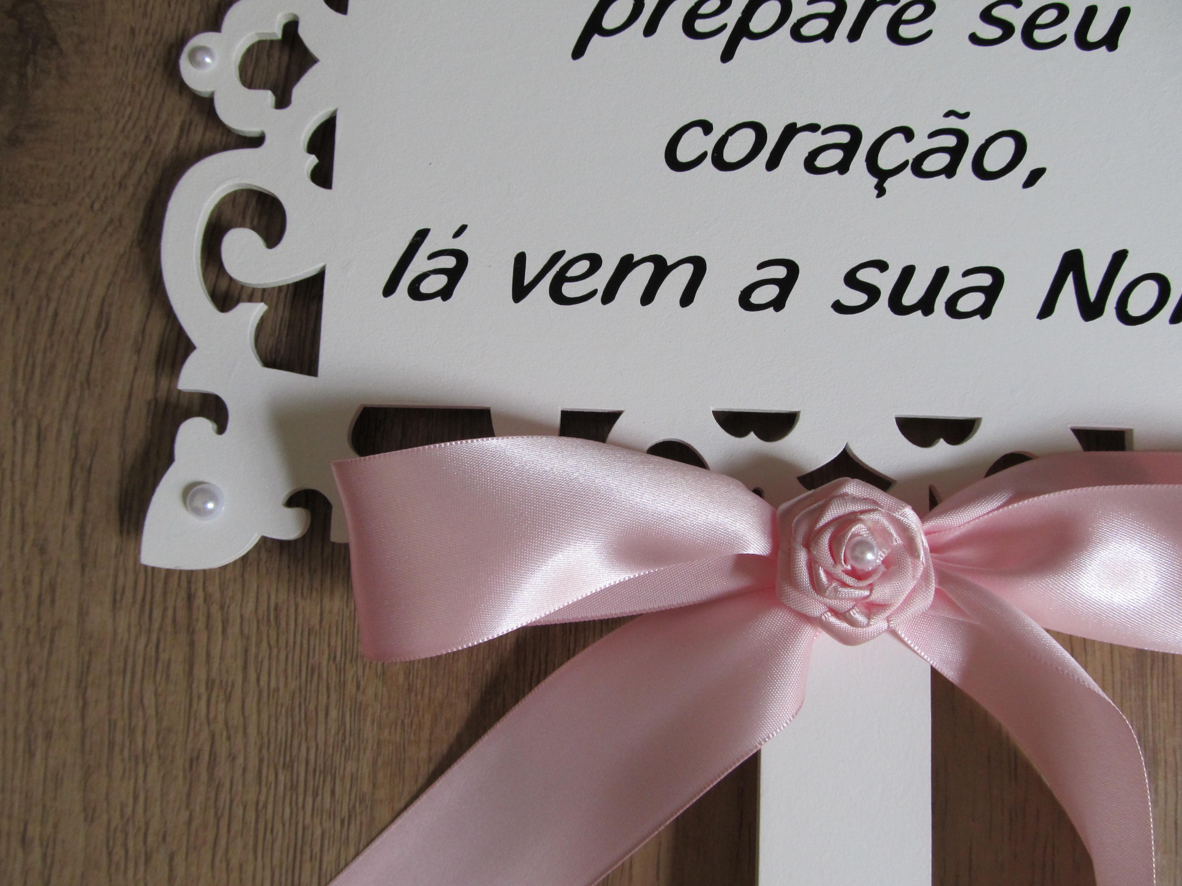 Placa Casamento Personalizada - 1 FRASE