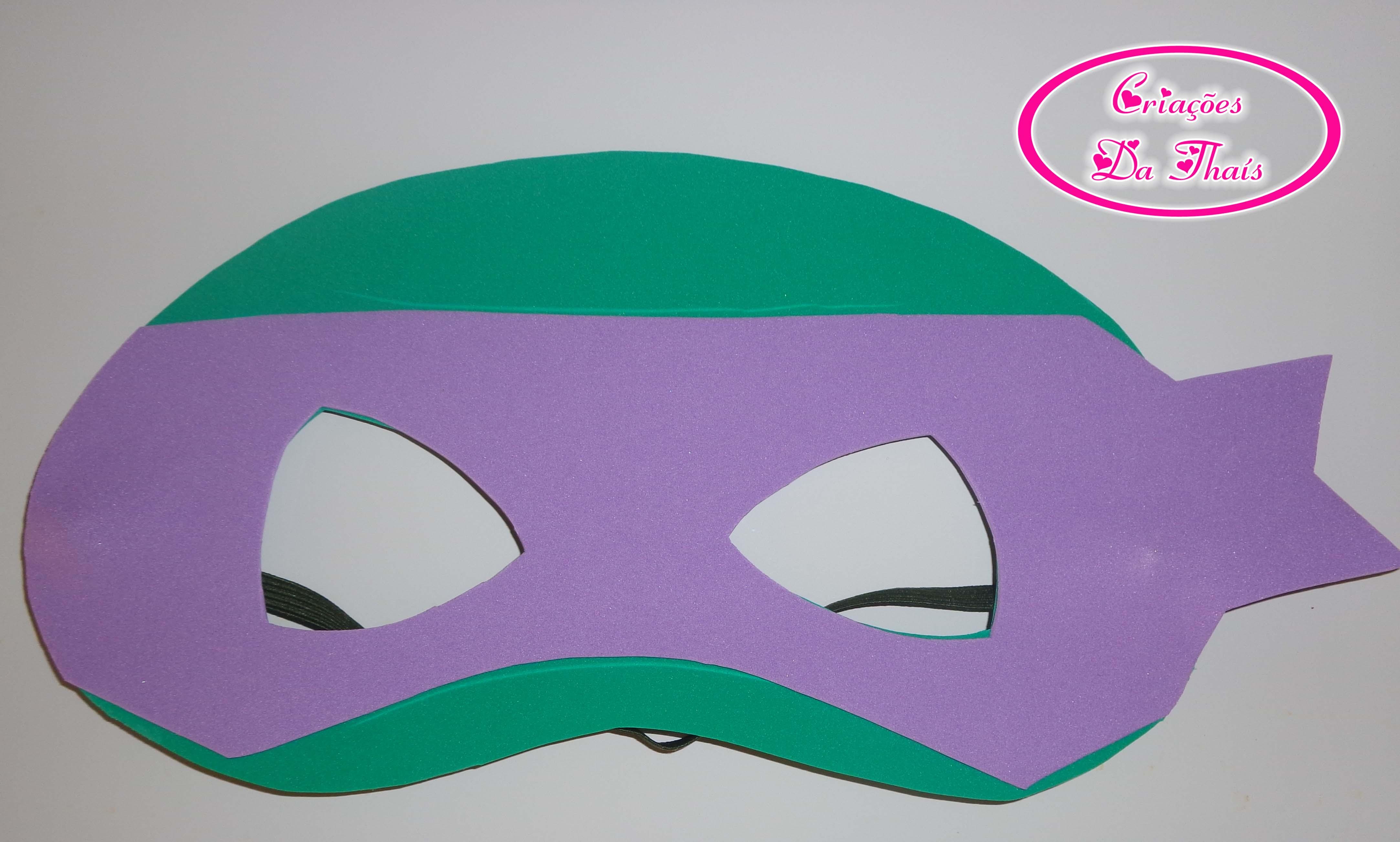 Mascara Em Eva Tartarugas Ninja No Elo7 Criacoes Da Thais 4fcc25