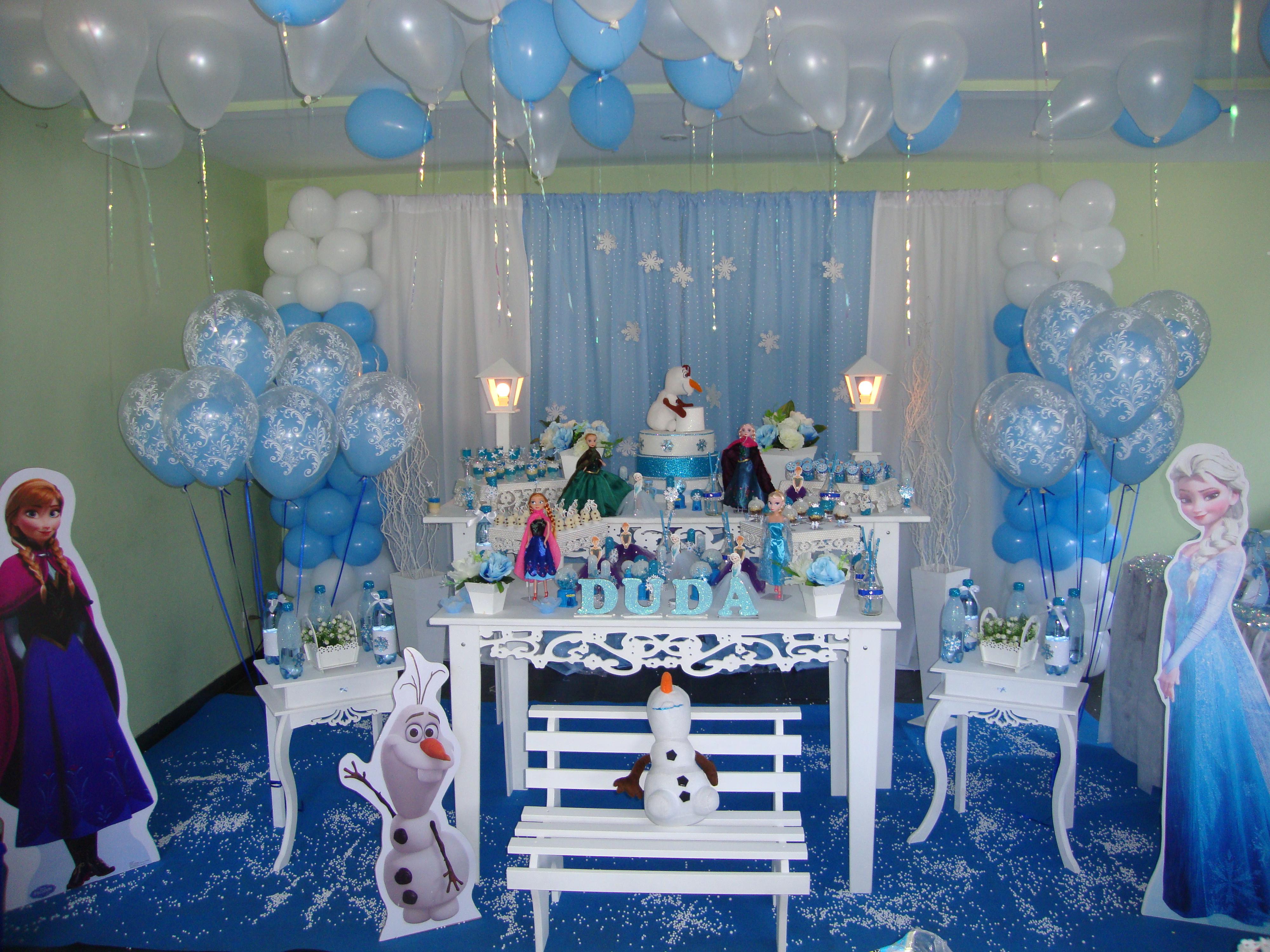 Decoração Frozen No Elo7 Ateliê Tem Tudo Festas Personalizadas