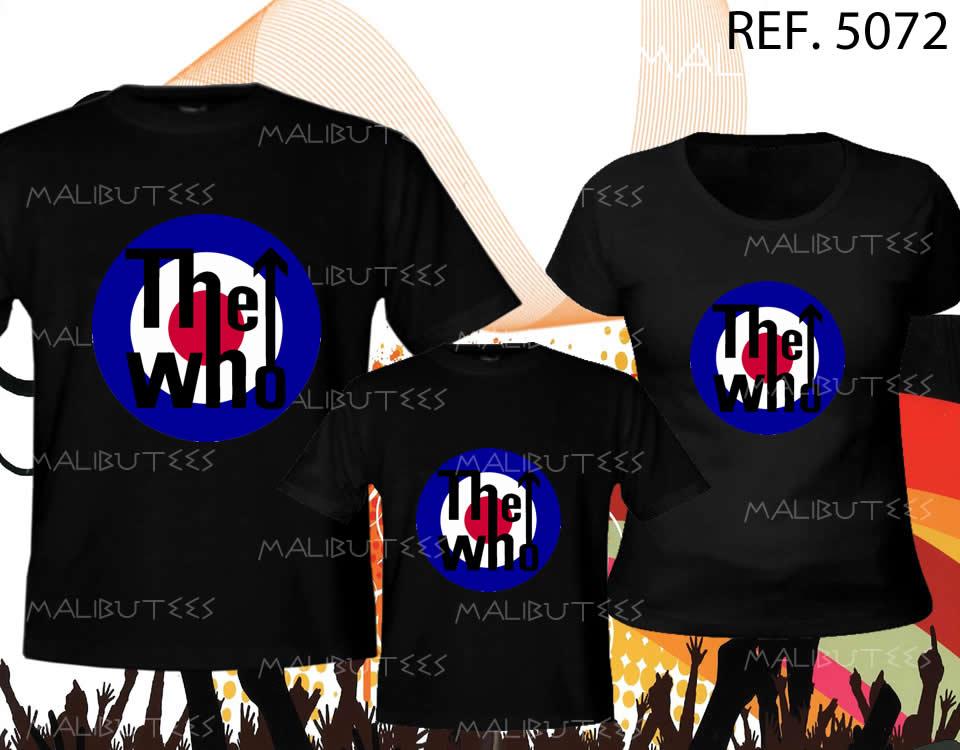 Camiseta Rock The Who Kit com 3  b8ce4485e83cb