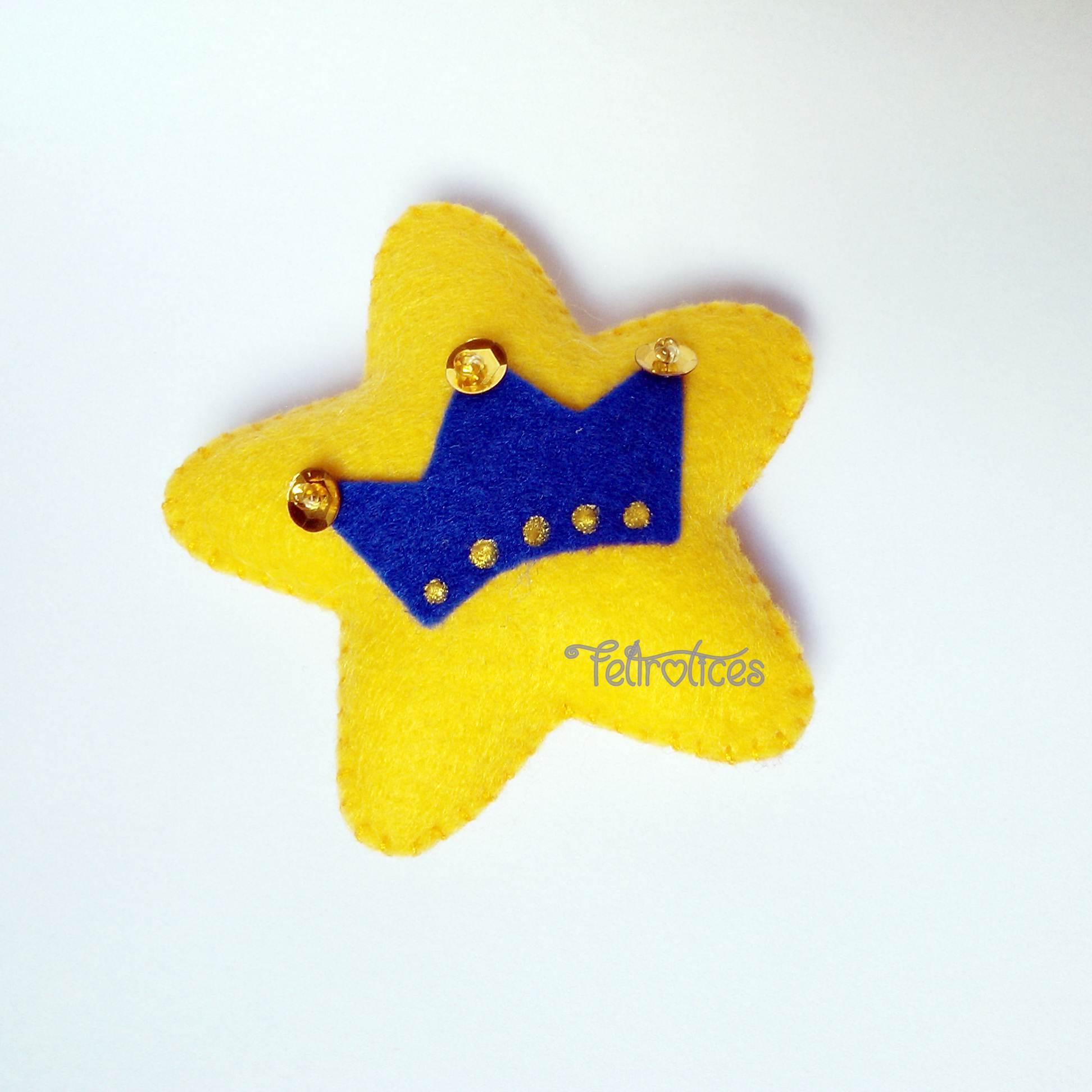 coleção pequeno príncipe 7cm- kit c/ 20 lembrancinhas feltro