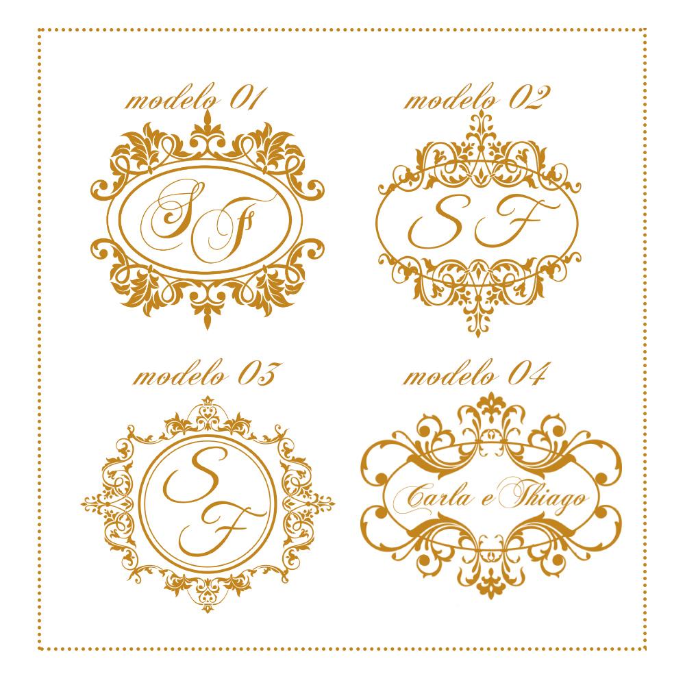 Monograma casamento marcia arts designer elo7 for C m r bagnolet