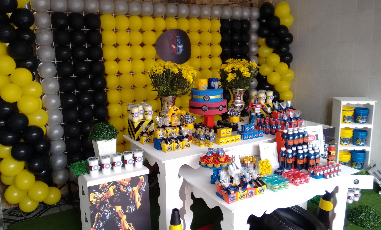 Mesa Transformers Pedro Amp Lucas Bembolado Elo7