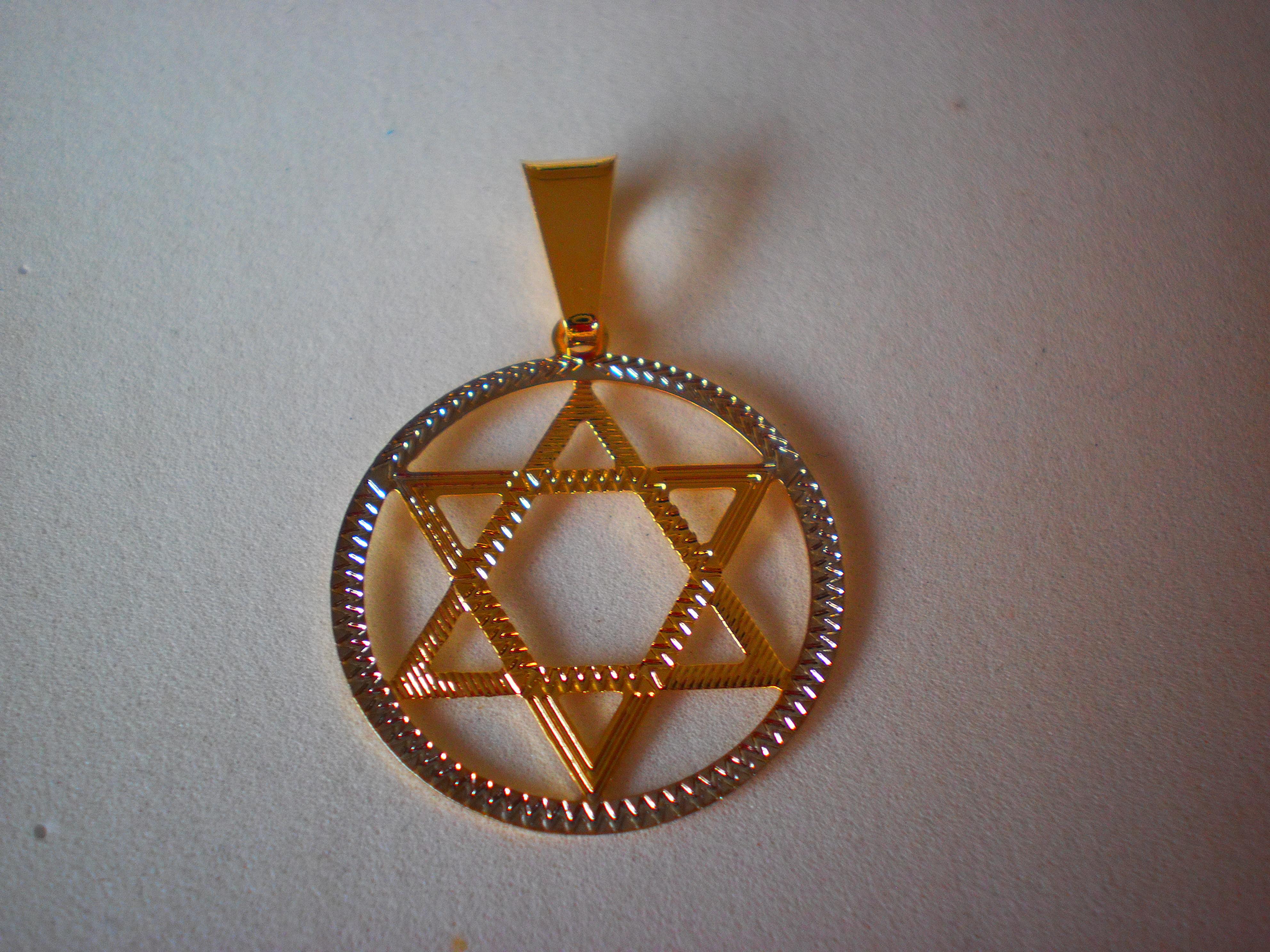 e79a29a8bf6 Estrela de Davi 2cm