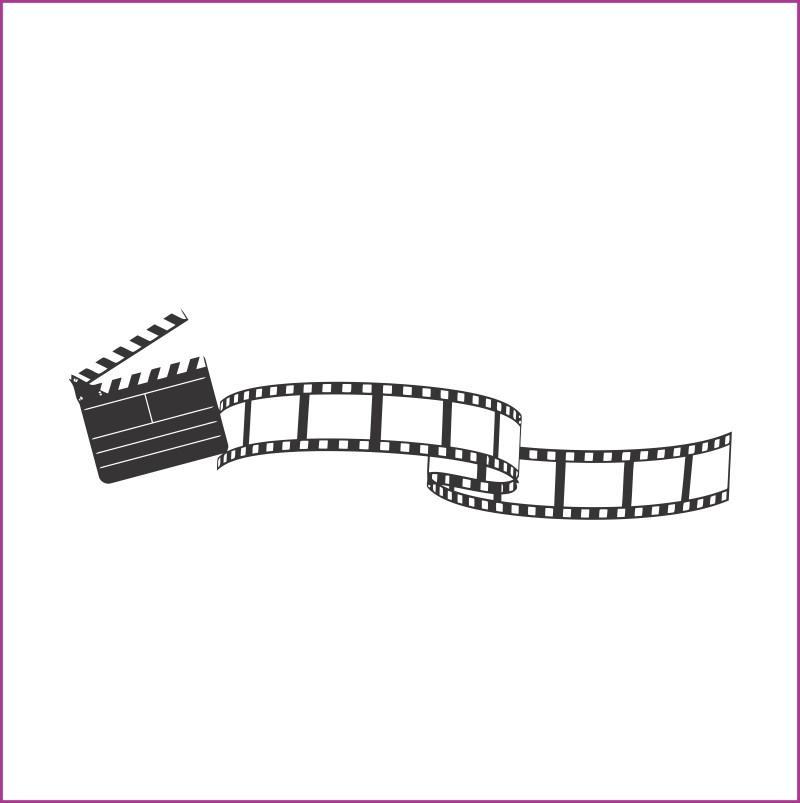 Adesivo Decorativo Fita Cinema No Elo7 Adesivos De Parede 50811b
