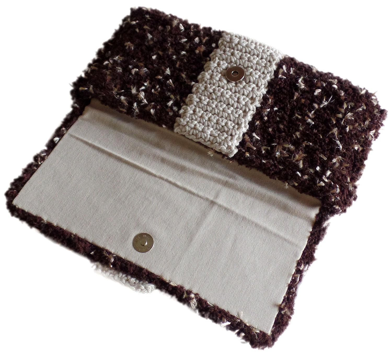 Bolsa De Mao De Festa : Bolsa carteira de m?o em tric? e croch? artestore bolsas