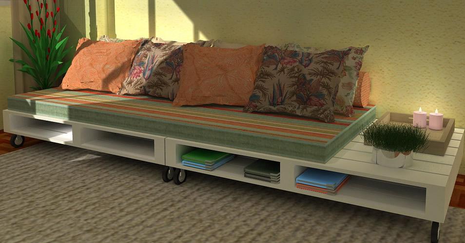 Sofá de pallet | Ophicina Wood Art | Elo7