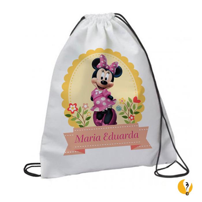 Mochila Personalizada Minnie  df53f2f2723a
