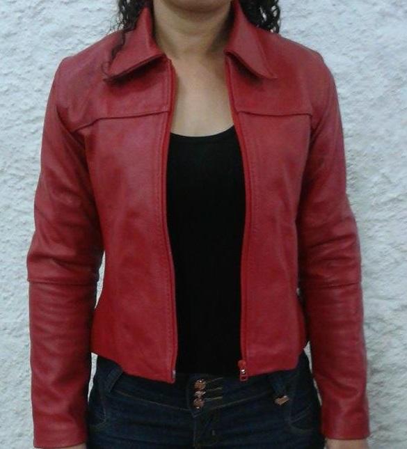 Jaqueta de Couro Lisa Feminina no Elo7  9863f8716d223