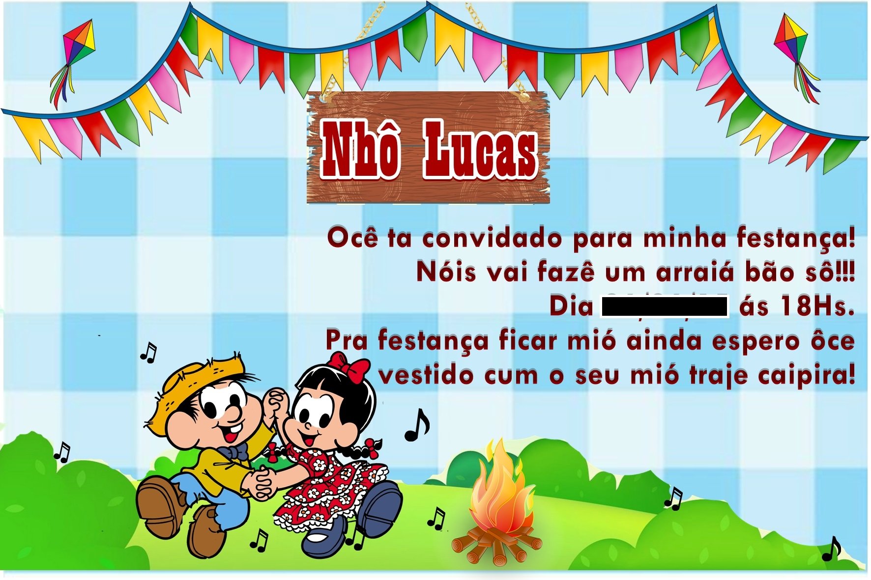 Convite Digital Festa Junina No Elo7 Art Da Mamãe 51f239