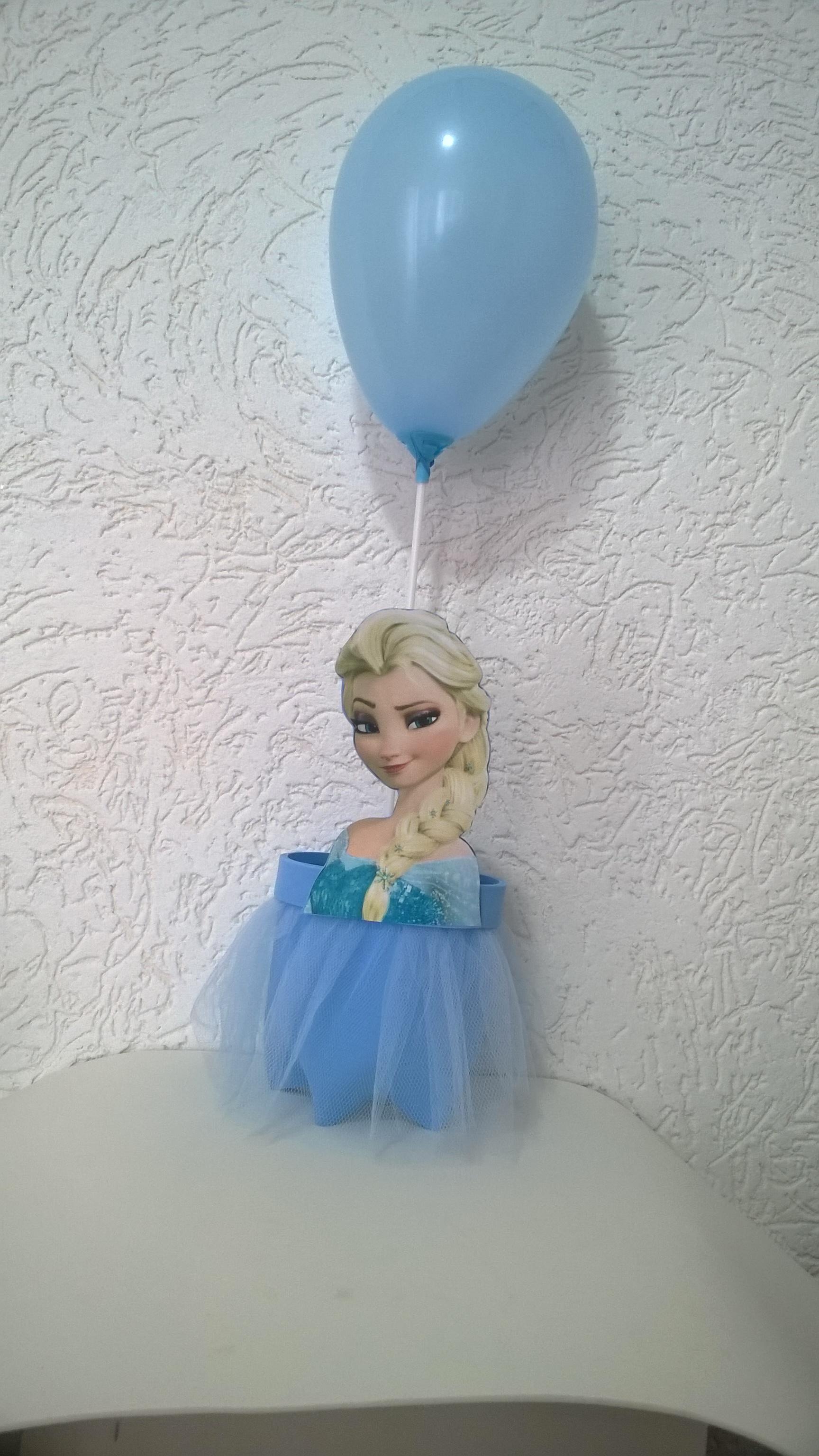 Centro De Mesa Frozen Na Garrafa Pet No Elo7 Joarteira 520afd