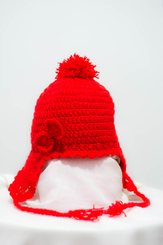 Touca Infantil Croche Menino  ef527a098fb