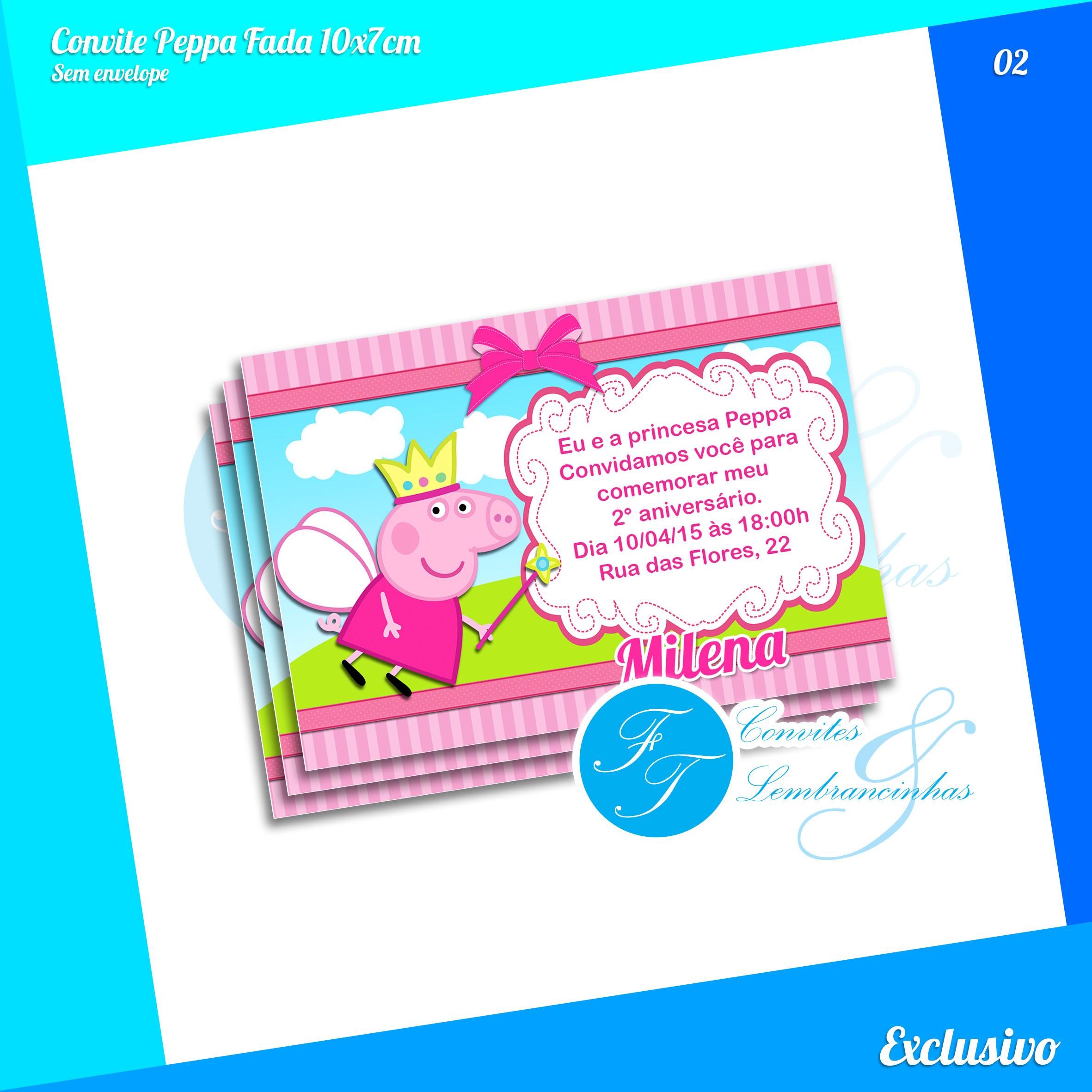Zoom · Kit Festa Peppa Pig Fada Princesa
