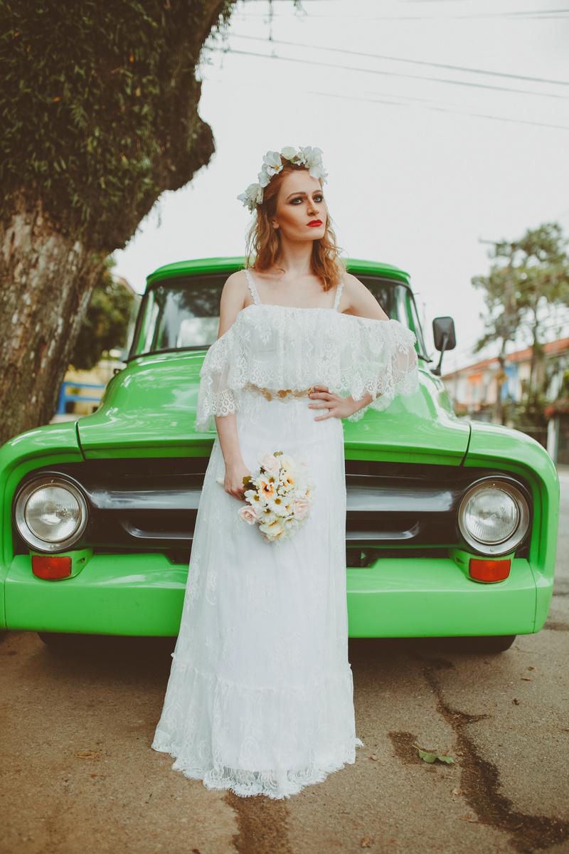 Vestido de noiva Lucy - Boho Chic | Atelier Luana keylla