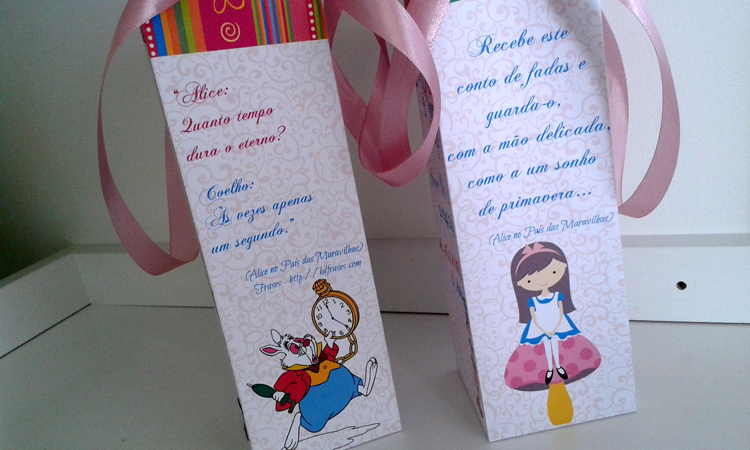 Embalagem Alice No Pais Das Maravilhas No Elo7 Cor De Flor 52e8d1