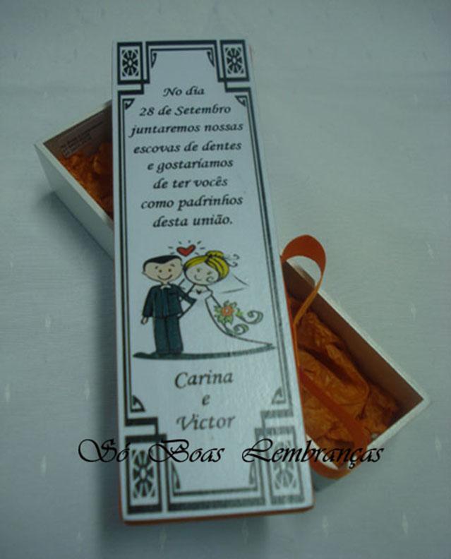 Convites De Casamento Para Padrinhos Elo7