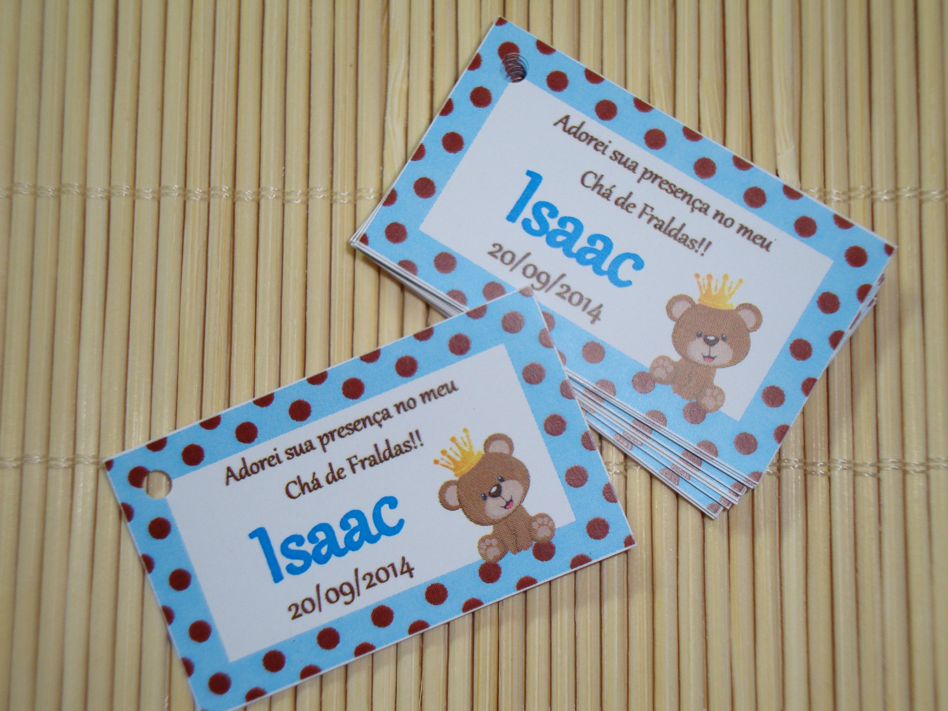 Tag Para Lembrancinha Ursinho No Elo7 Tags Criativos 445271