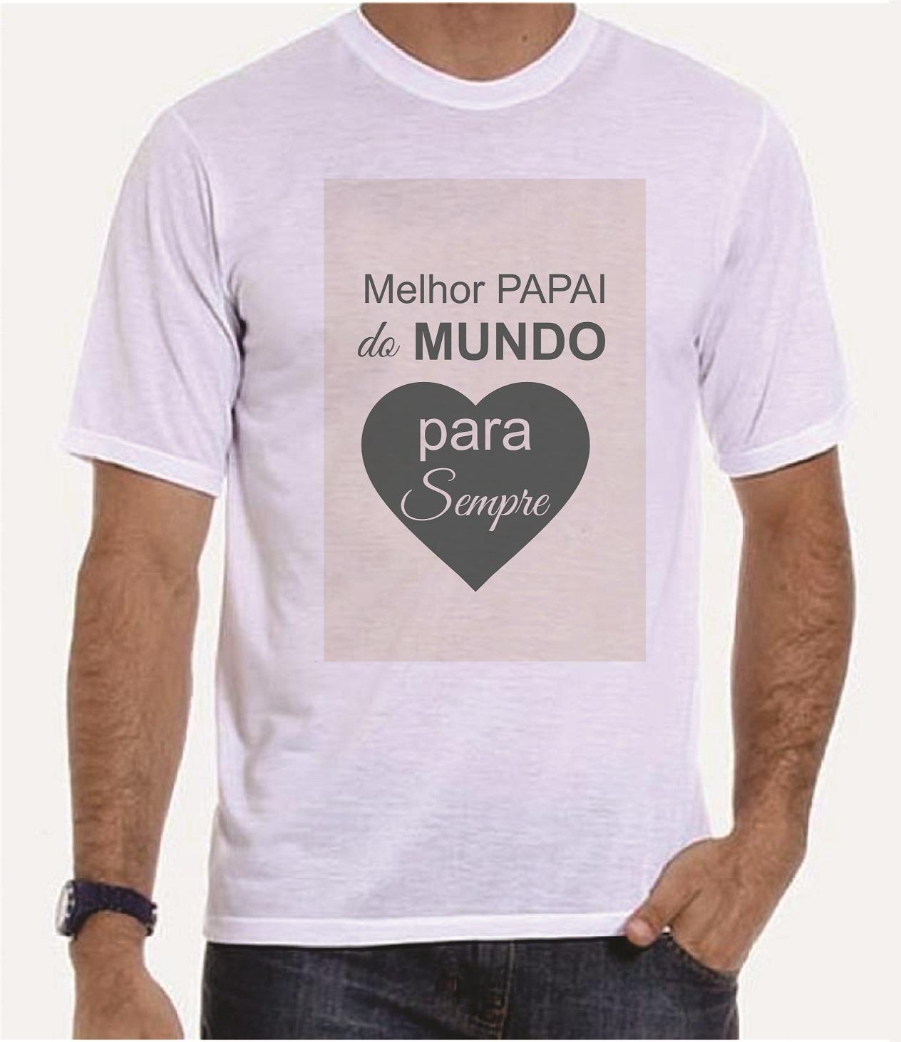 Camiseta Melhor Papai Do Mundo No Elo7 Empório Camiseteria 53f3b5