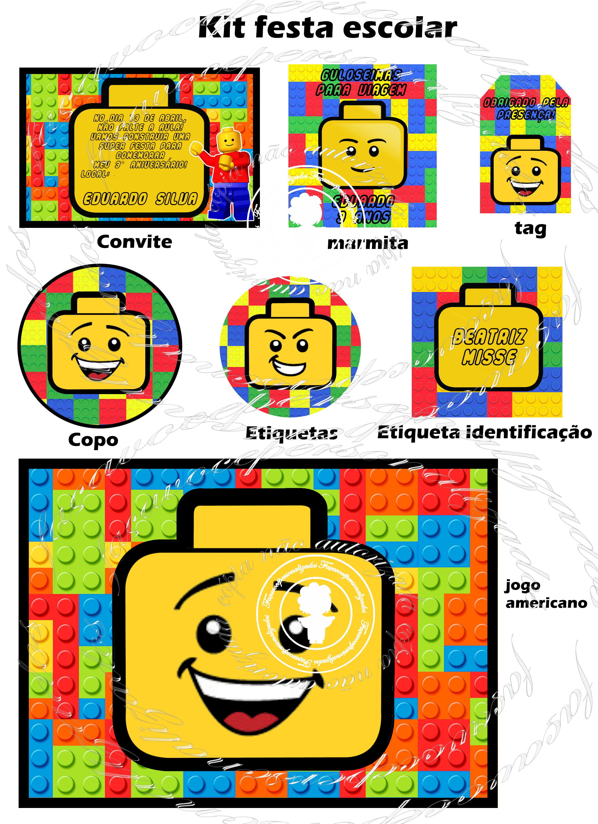Minha festa Festa Lego t