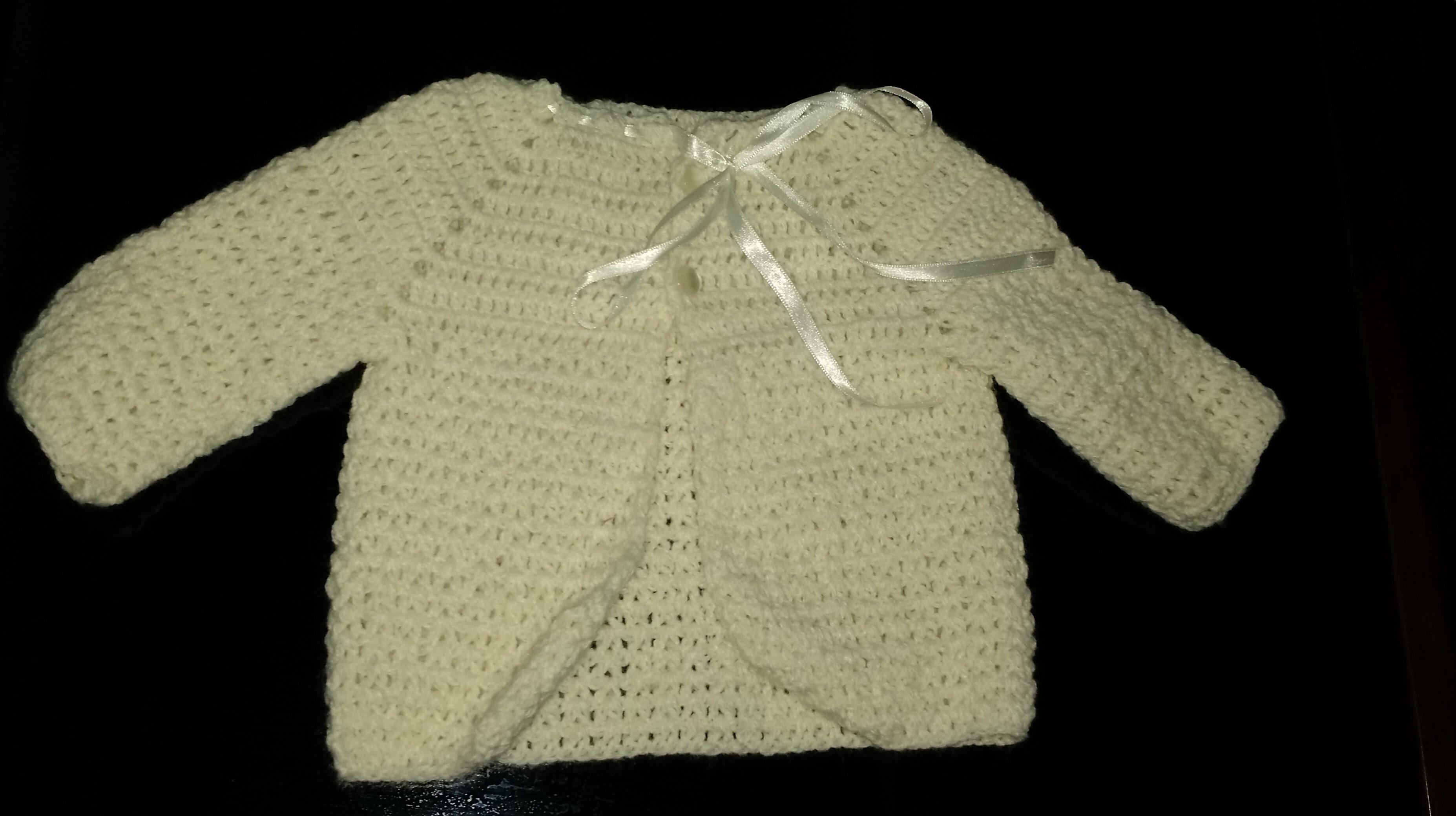 Casaco de beb croch 0 a 3 meses mimos line elo7 - Regalo bebe 3 meses ...