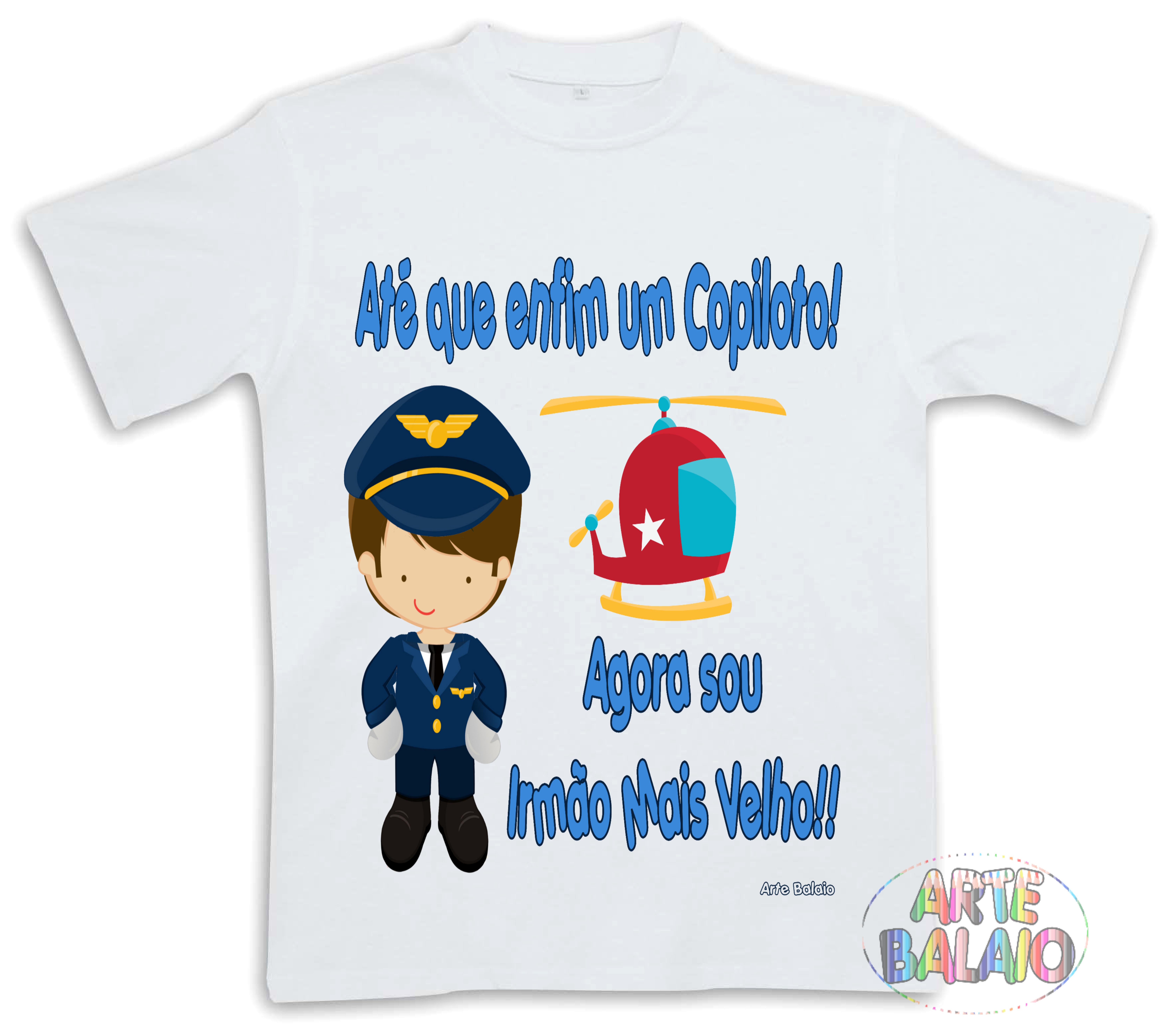 Camiseta Irmao Mais Velho Elo7