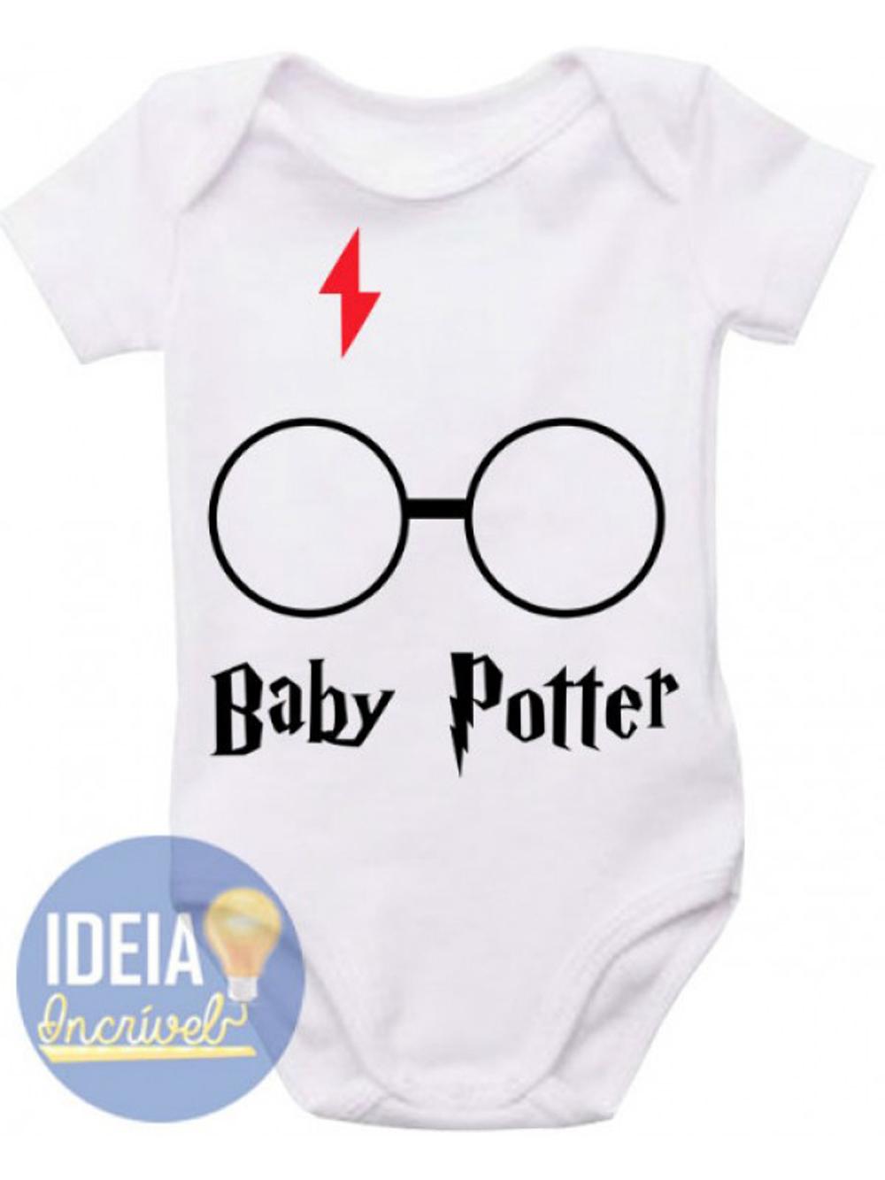 eb14bae9d Roupas Harry Potter para Bebe   Elo7