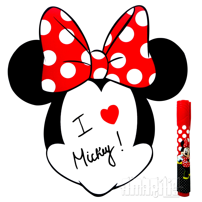 Amado Lousa Magnética Mickey ou Minnie no Elo7 | Amarílis Atelier (54E48C) YU58