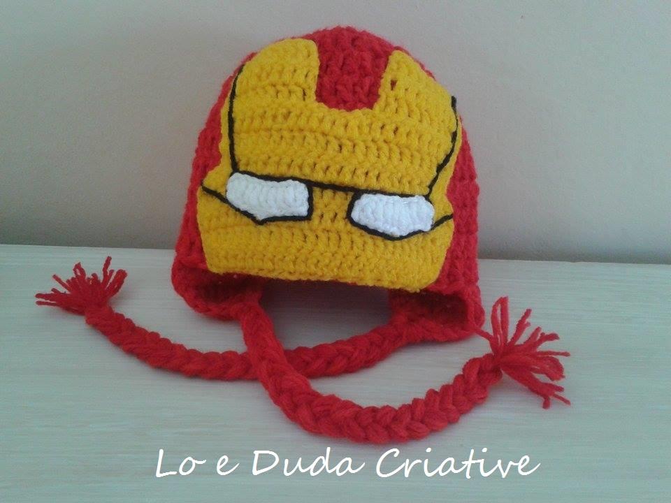 Touca Iron Man no Elo7  f4dc4ce8f0a
