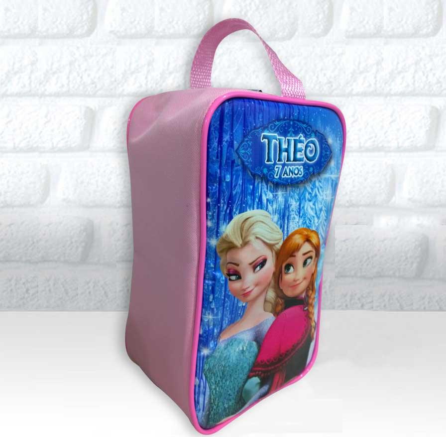 2ac5bd4540d80 Porta Chuteira tema Frozen no Elo7