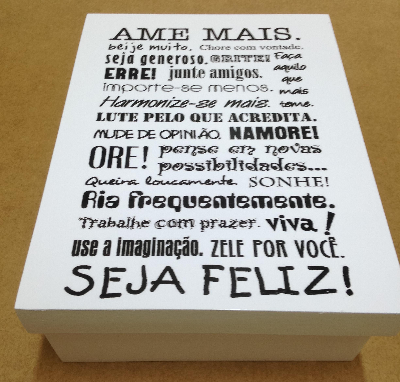Caixa Com 365 Frases Elo7