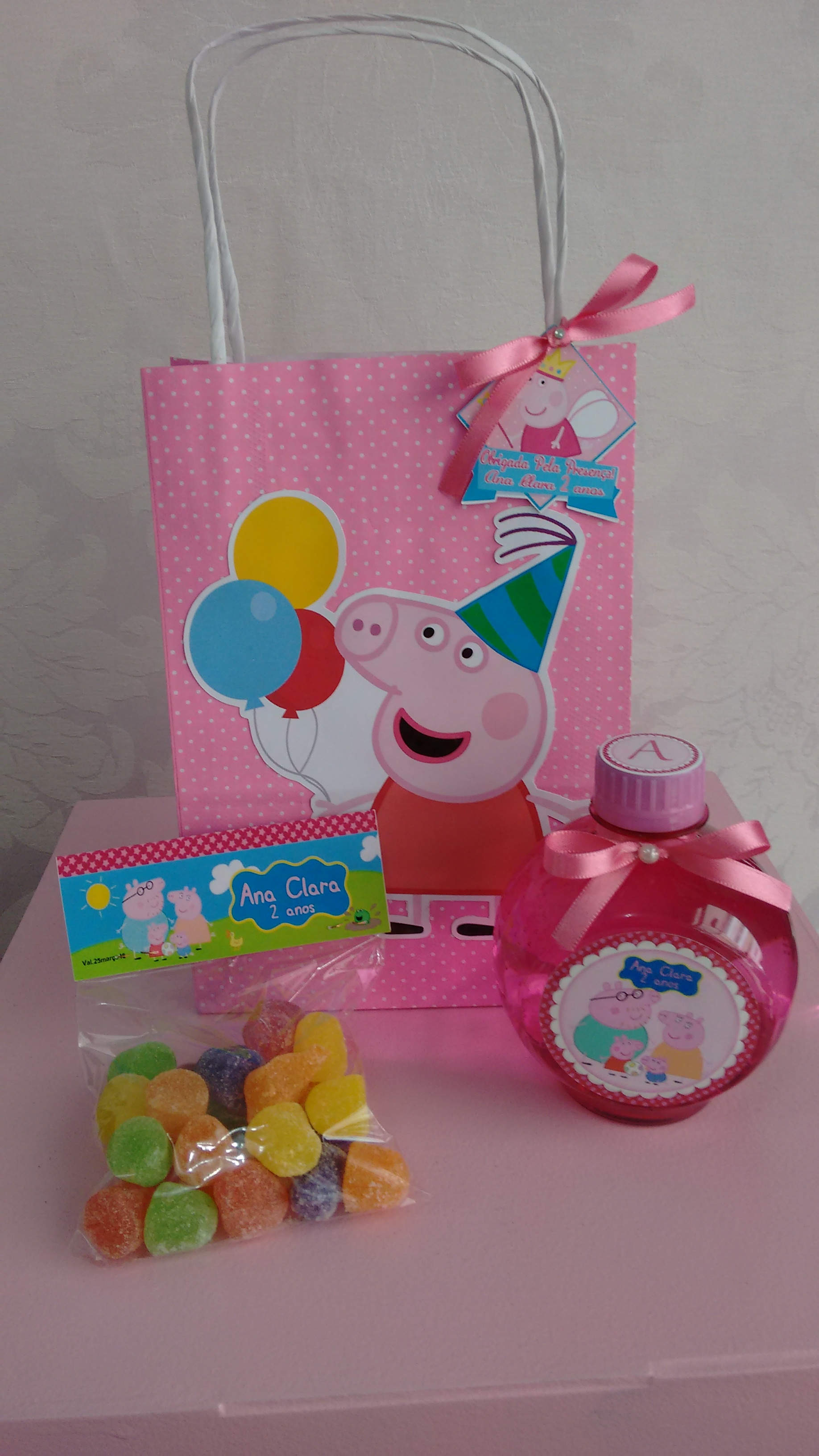 Kit lembrancinhas peppa pig no Elo7 | DECORATE EVENTOS PERSONALIZADOS  (55C5B7)