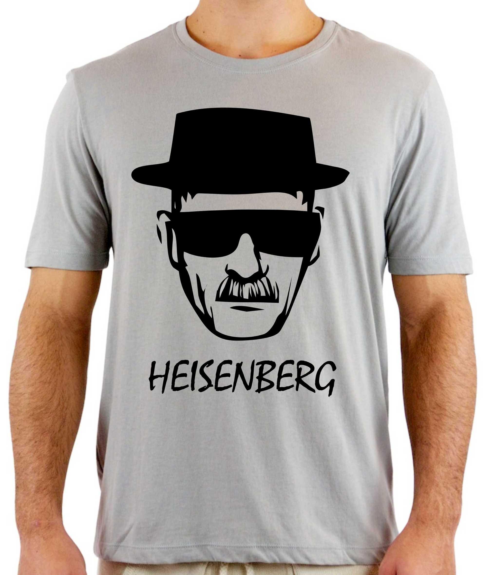 ea1a942eb Camiseta Breaking Bad Heisenberg no Elo7