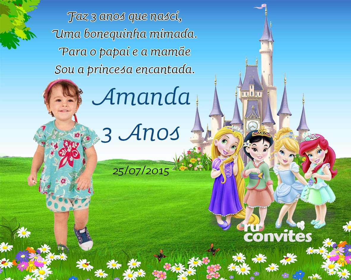 Imã De Geladeira Princesas No Elo7 Ruconvites 56685e