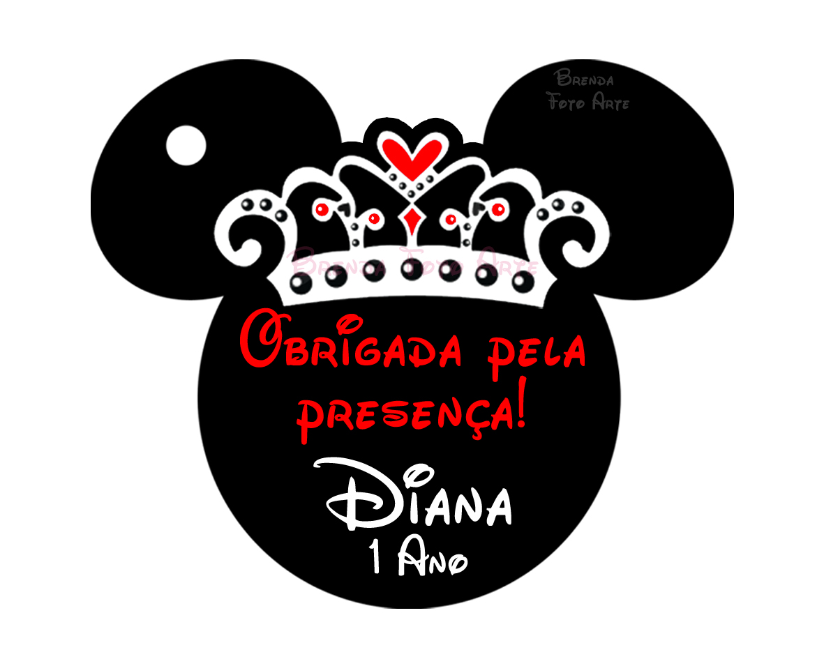 Minnie mouse vermelha png
