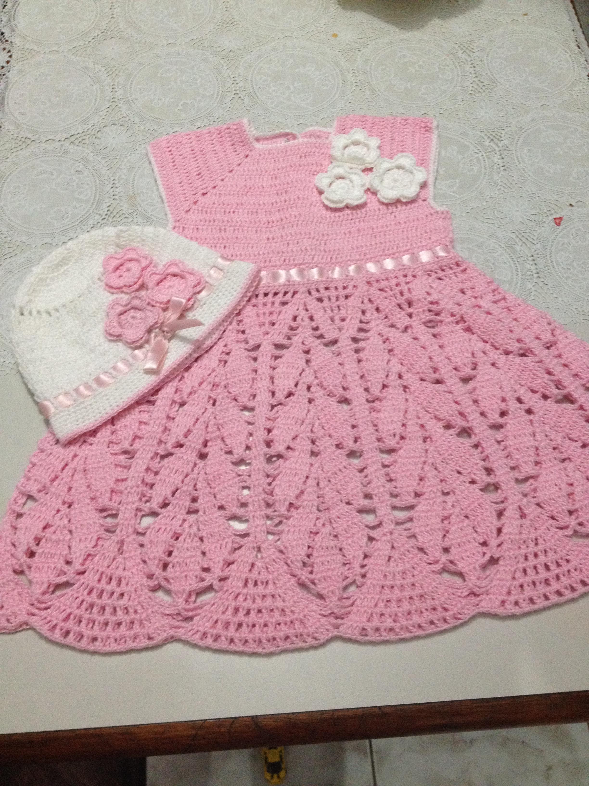 Vestido Infantil - Coleção de ARTESANATO FLOR DE LIS ( artesanatoflordelis)   46850655625