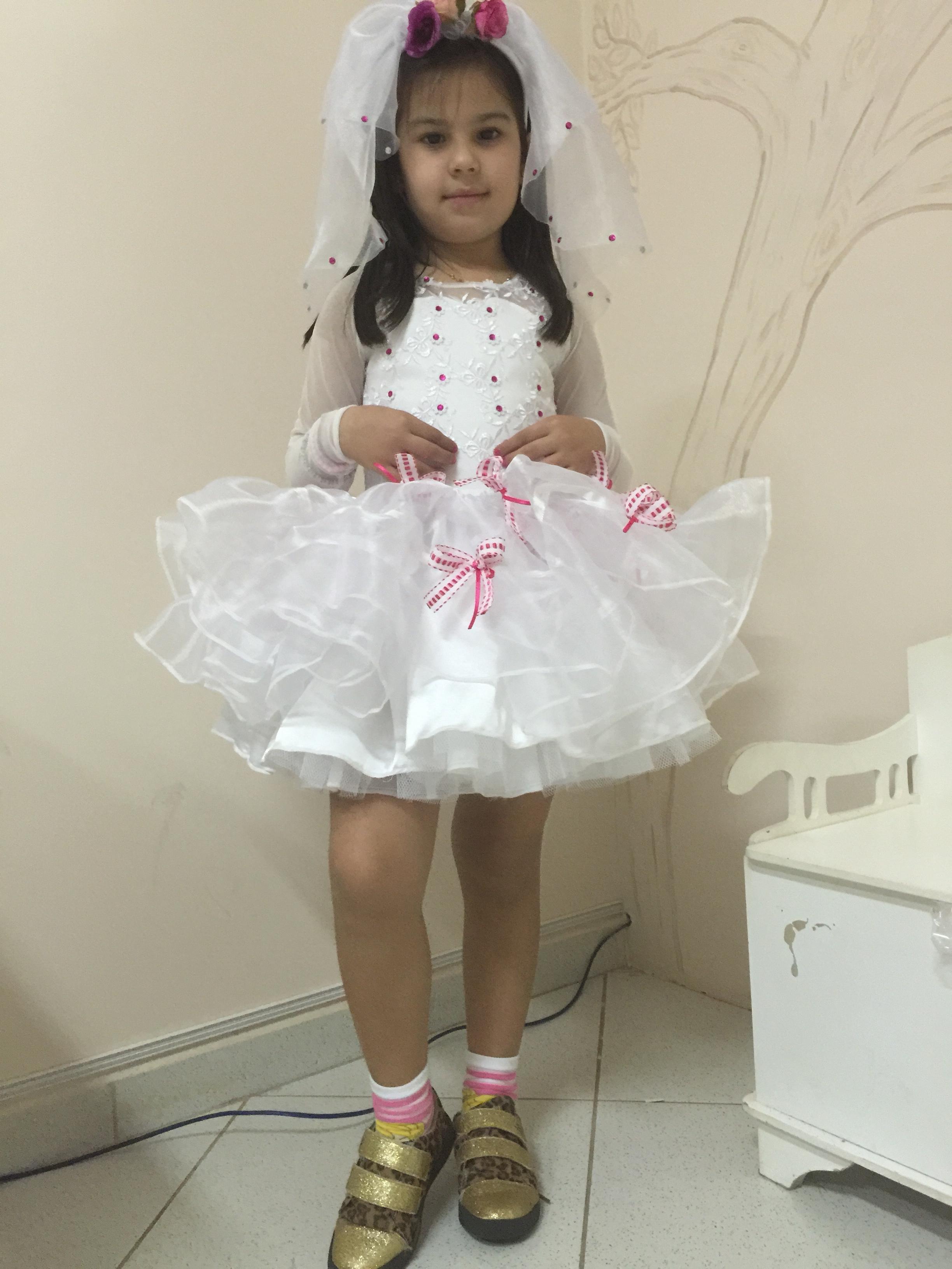 Vestido Noiva Caipira Tule Em Babados No Elo7 Dalili Store 56fa73
