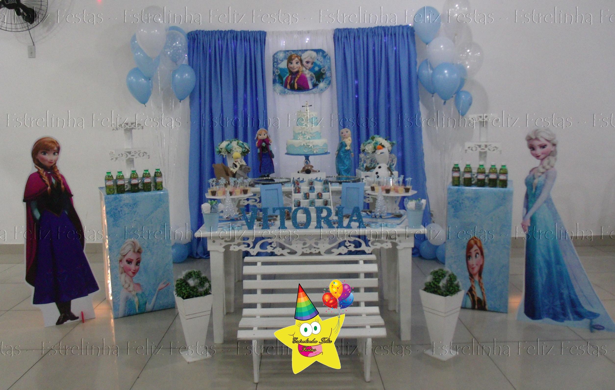 Decoração De Festa Infantil Frozen No Elo7 Estrelinha Feliz Festas