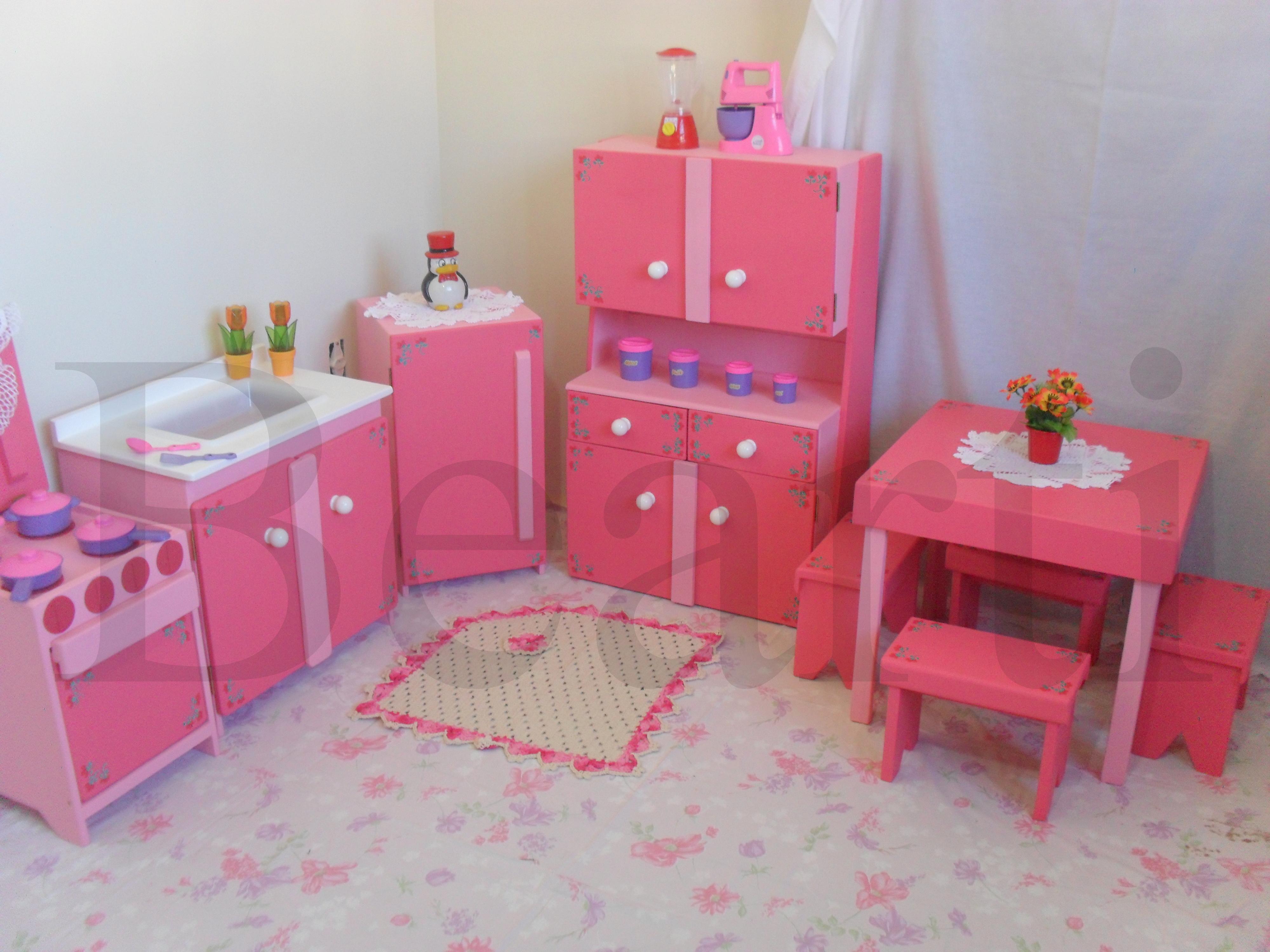 Cozinha Infantil De Papel O Resimden Com