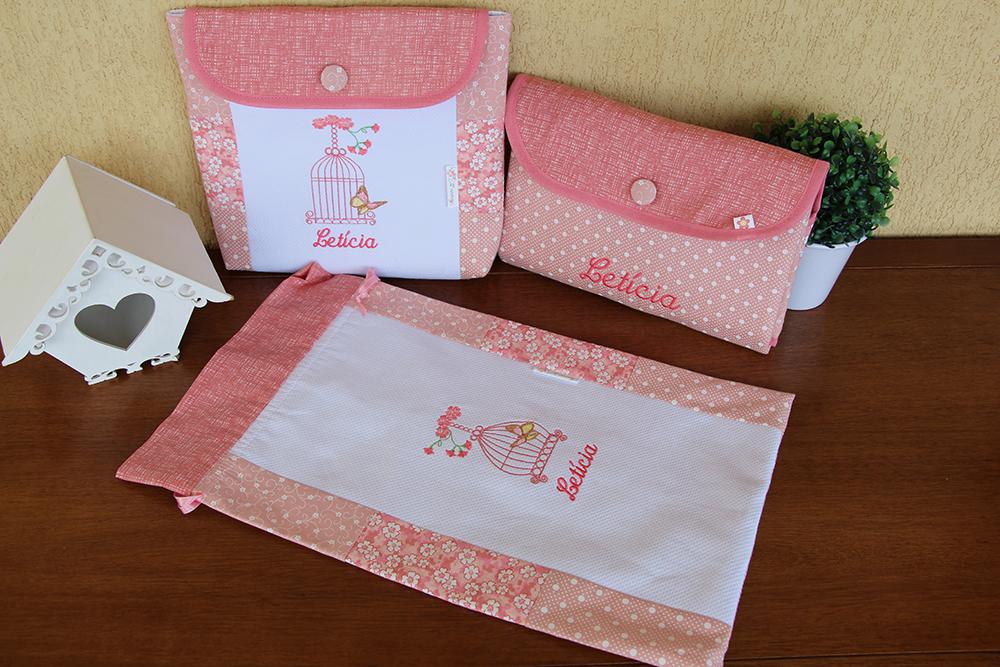 Design Of Kit Passeio Completo - Gaiola &Borboleta e preço