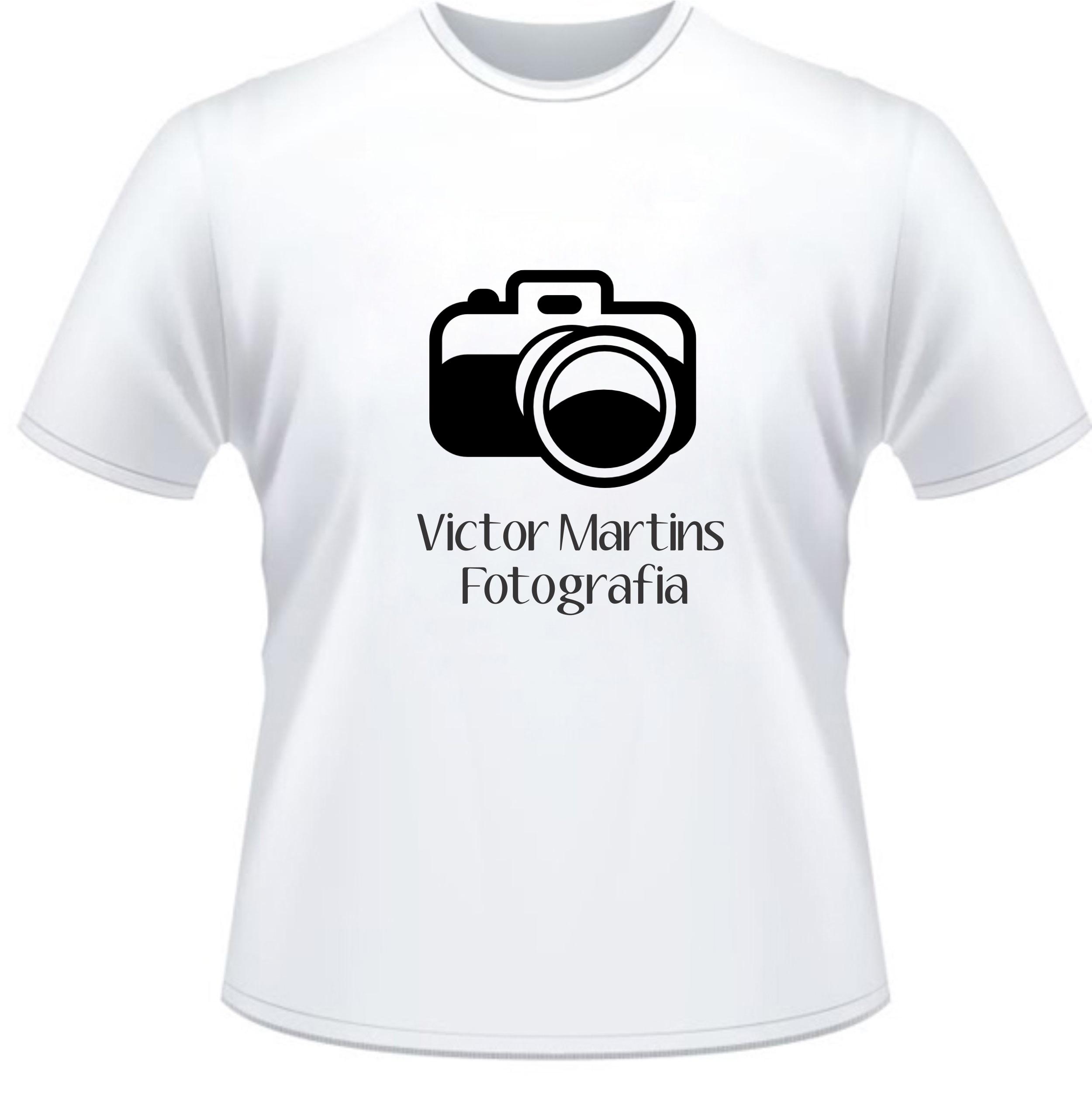0e298464de Camiseta Personalizada Fotógrafo no Elo7