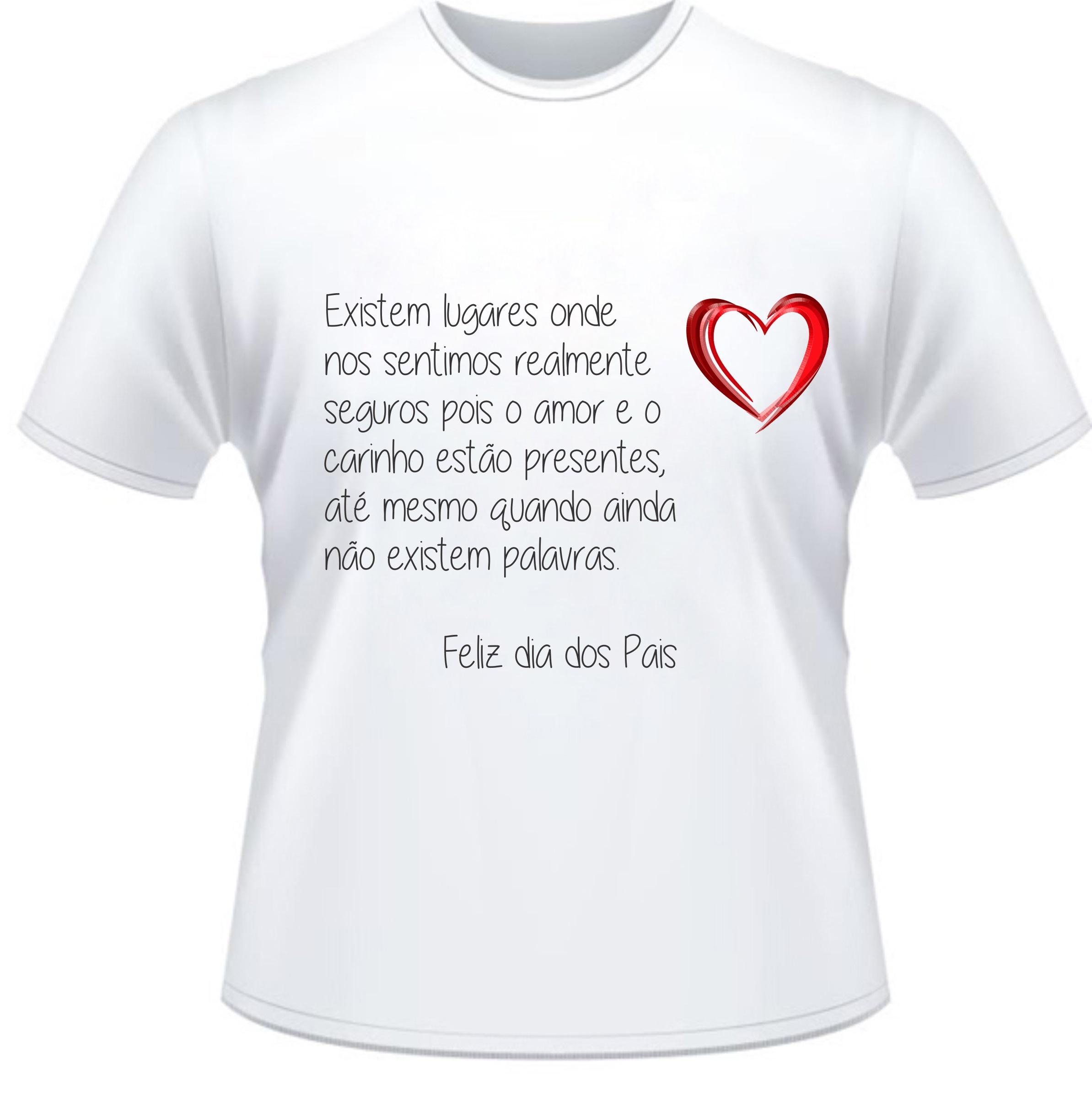 Camiseta Mensagem Ao Papai No Elo7 Nova Ideia Personalização 577ef1