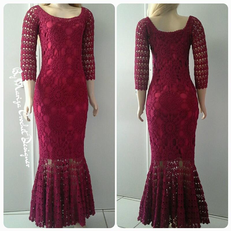 Vestidos E Saias Crochet Coleção De Ateliê Arte Do Vale